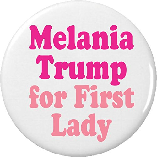 """Melania Trump for First Lady 2.25"""" Keychain President Donald"""