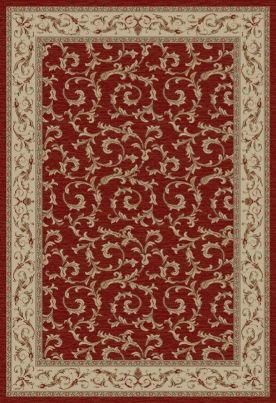"""Concord Global Jewel VERONICA RED 3'11""""X5'7"""" from Concord Global Trading"""