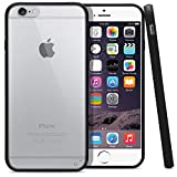 """iPhone 6 Case, MagicMobile® Ultra Slim [THIN] Hybrid Clear Armor Case for iPhone 6S [BUMPER] Frame Cover [TPU] Protective Case for Apple iPhone 6 (2014) / iPhone 6S (2015) [4.7"""" inch] - Black"""
