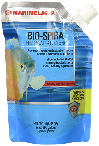 MarineLand BIO-Spira Freshwater Bacteria for Aquariums, 8.45-Ounce (Instant Ocean Bio Spira For Saltwater Tanks)