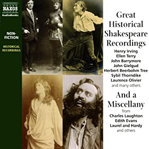 Great Historical Shakespeare Recordings Rede
