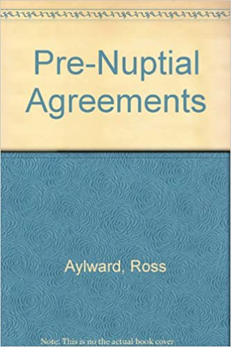 Pre Nuptial Agreements 9781858004648 Amazon Books
