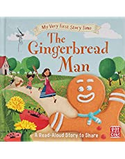 My Very First Story Time: The Gingerbread Man: Fairy Tale with picture glossary and an activity