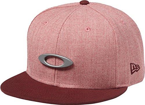 Oakley Men's O-Justable Metal Cap, Ember, One - Red Hat Oakley