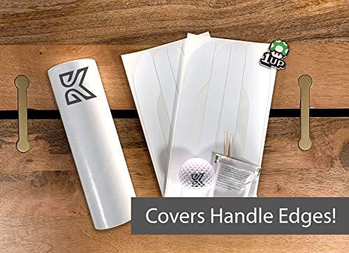 Kenriko Tesla Model 3 Matte White Door Handle Wrap Kit