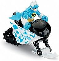 Fisher Price Imaginext DC Super Friends Mr Freeze Batman snowmobile arctic snow