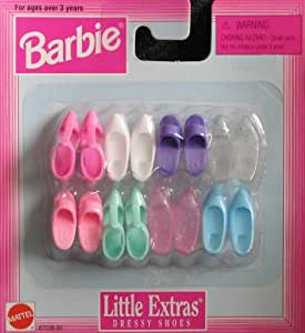 Barbie Little Extras Dressy Shoes (1997 Arcotoys, Mattel)