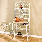 Kitchen Bakers Rack Includes Wine Storage - Best Reviews Guide