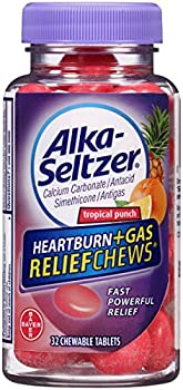 32-Count Alka-Seltzer Heartburn Tropical Punch