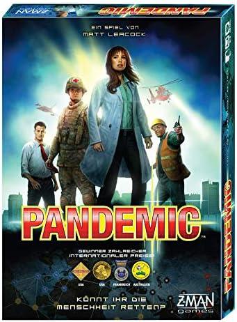 ZMan- Pandemie Juego de Mesa cooperativo, Individual, Multicolor (Z-Man Games 691100): Amazon.es: Juguetes y juegos