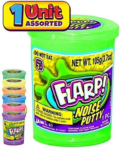 Ja-Ru Toys Noise Making Slime Free Shipping! FLARP Noise Putty