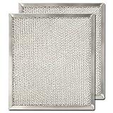 Aluminum Range Hood Filter - 9'' X 10 3/32'' X 3/8''