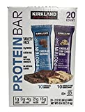 quest bars chip cookie dough - Kirkland | Signature Variety Protein Bars 20 count | 21G Of Protein, 4G Of Carbs & 1G Of Sugar | Chocolate Brownie and Chocolate Chip Cookie Dough (20 Bars)