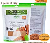 Certified Organic 2lb/908g Pure Ceylon/True Cinnamon Powder(C.Zeylanicum)
