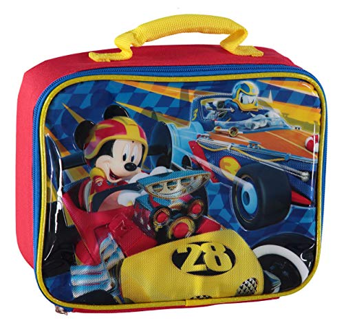 Disney Mickey Mouse Racer Lunchbag (Racing Mickey)