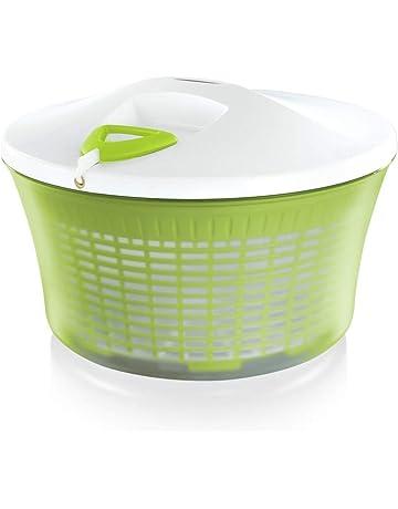Vert//Blanc Taylors Eye Witness Essoreuse /à Salade en Plastique 4/Litre
