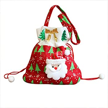 Amazon.com: Homecube® Christmas Candy Bag Santa Pants Gift And ...