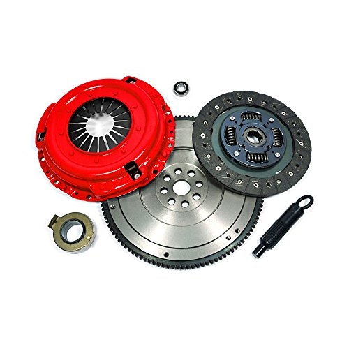 Kit Duty Civic Clutch Honda Heavy - EFT STAGE 1 CLUTCH KIT+HD FLYWHEEL for 1992-05 HONDA CIVIC DEL SOL D15 D16 D17