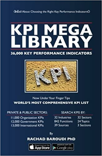KPI Mega Library: 36,000 Key Performance Indicators: Amazon.es: Rachad Baroudi PhD: Libros en idiomas extranjeros
