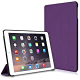 iPad Air 2 Case, CaseCrown Omni Case (Purple) Multi-Angle Viewing Stand & Sleep/Wake
