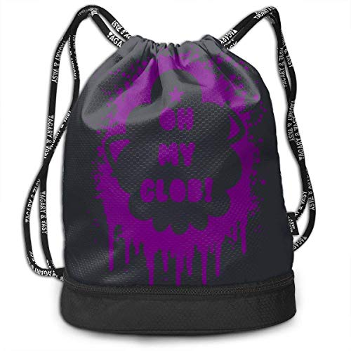 Unisex 3D Printed ort Gym Drawstring Bags Toiletry Bags with Straps for Gift ()