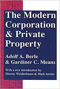 The Modern Corporation And Private Property Amazon