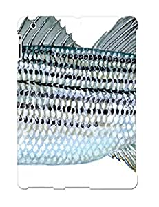 Durable Case For The Ipad 2/3/4 - Eco-friendly Retail Packaging(fishing Fish Sport Fishes Water Artwork )