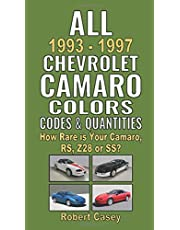 All 1993-1997 Chevrolet Camaro Colors, Codes & Quantities: How Rare is Your Camaro, RS, Z28, or SS?