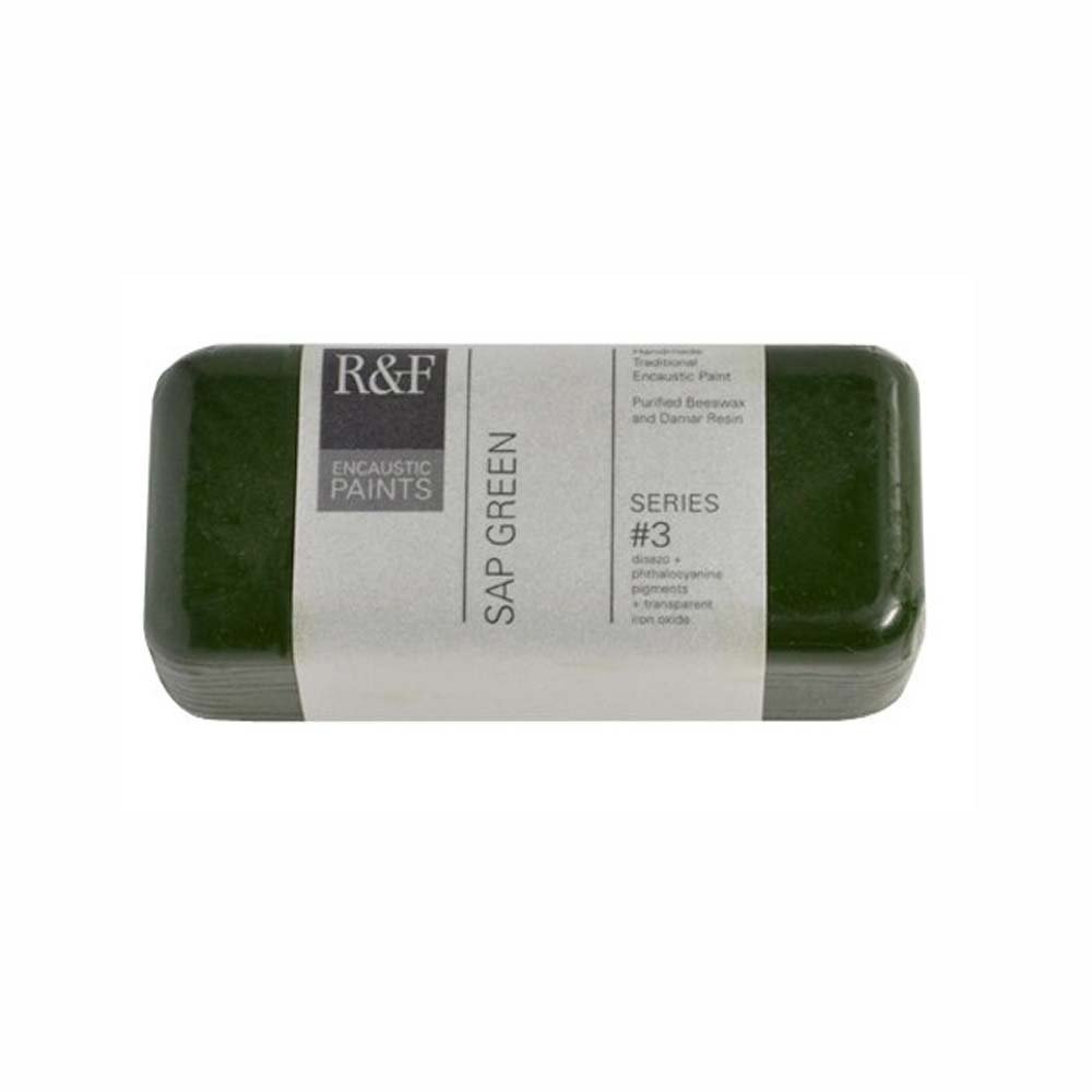 R&F Encaustic 104ml Paint, Sap Green