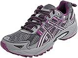 ASICS Women's Gel-Venture 5 Trail Running Shoe, Frost Gray/Gray/Silver/Magenta, 8.5 M US