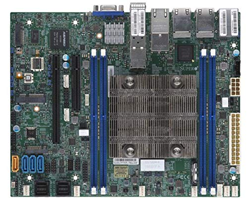 Ethernet Supermicro Motherboard (Supermicro X11SDV-4C-TP8F Motherboard)