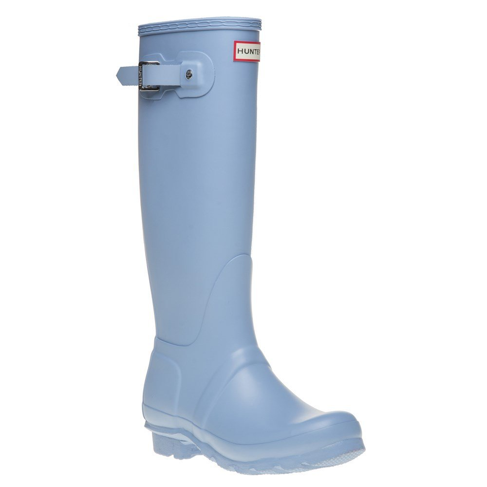 Hunter Women's Original Tall Wellington Boots, Blue - 6 B(M) US