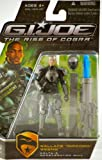 """G.I. Joe The Rise of Cobra Movie Action Figure, Wallace """"Ripcord"""" Weems (Delta-6 Accelerator Suit), 3.75 Inches"""