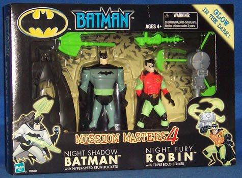 Batman Mission Masters 4 Night Shadow Batman and Night Fury Robin