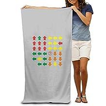 2017 New Style Large Beach Towel Virtual Cubes Rubik's Cube Super Cubes Lint Free
