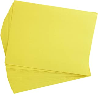 product image for Construction Paper, Yellow, 9 inches x 12 inches, 50 Sheets, Heavyweight Construction Paper, Crafts, Art, Kids Art, Painting, Coloring, Drawing Paper, Art Project, All Purpose (Item # 9CPYE)