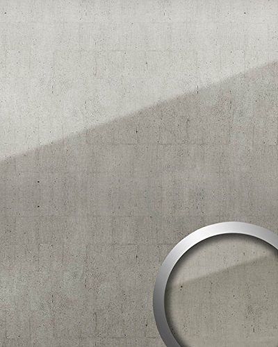 wallface-18600-wall-panel-self-adhesive-glass-look-luxury-vintage-metal-panel-platin-grey-260-sqm