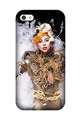 Iphone 6 Plus/6S Plus case, Music Lady Gaga [Durable Anti-Slip] TPU Defensive Case Compatible with Iphone 6 Plus/6S Plus