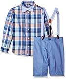 Nautica Boys' 4-Piece Set with Dress Shirt, Bow