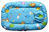 Baby Station Baby Bed Tent With Mosquito Net (Blue Animal Print)