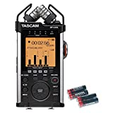 Tascam DR-44WL Portable Handheld Recorder with Wi-Fi and Free 4 Universal Electronics AA Batteries