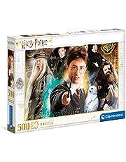Clementoni 35083, Harry Potter-pussel för barn och vuxna, 500 stycken, 10 år plus