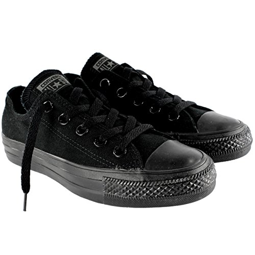 Converse Unisex Chuck Taylor All Star Low Top Black Monoc...