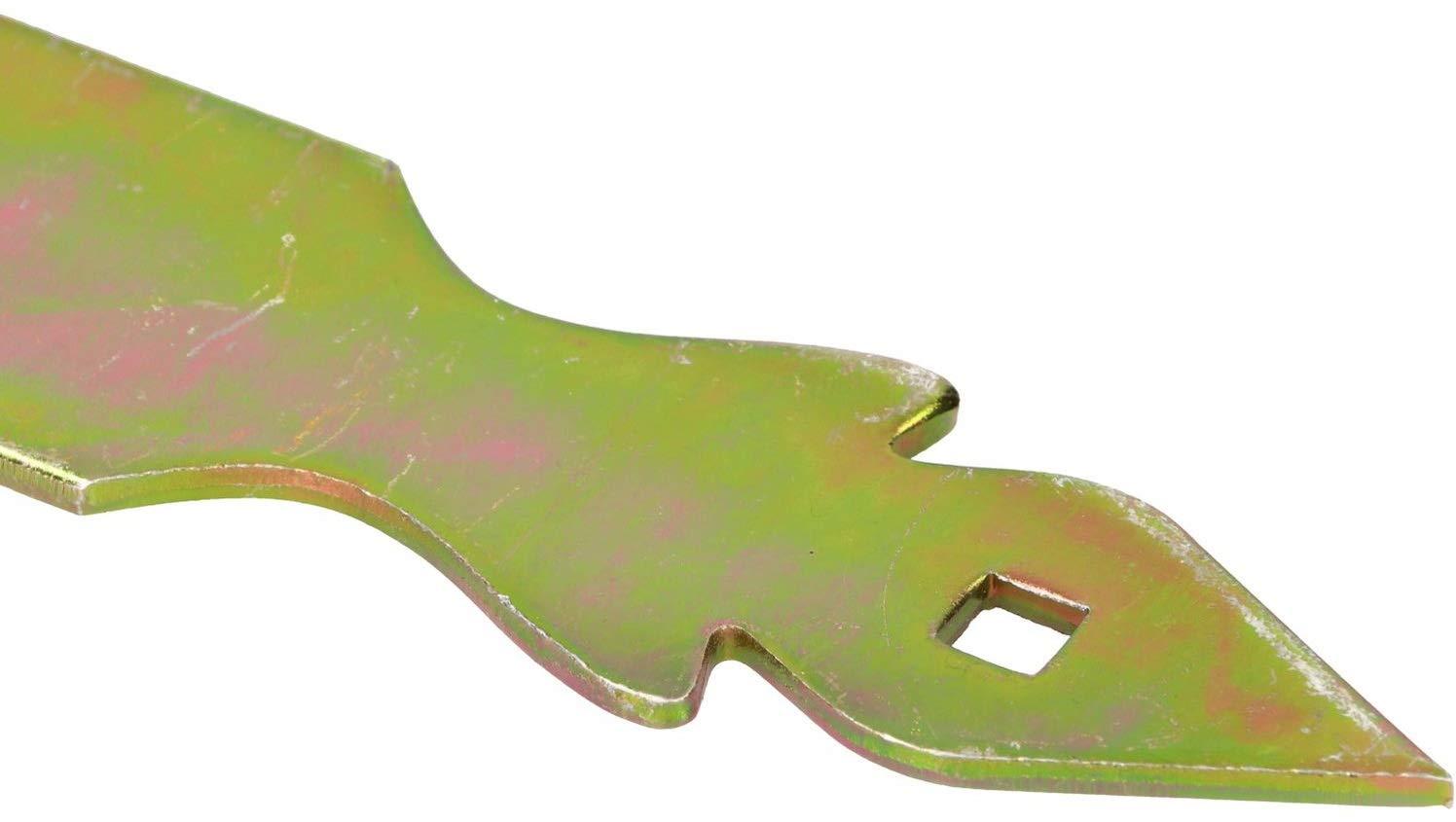 KOTARBAU Kreuzgeh/änge 500 mm Ladenband Scharnier Band Platte Baubeschlag Torbeschlag Holzverbindung Werfgeh/änge T-Band T-Scharnier Verzinkt Dekorativ