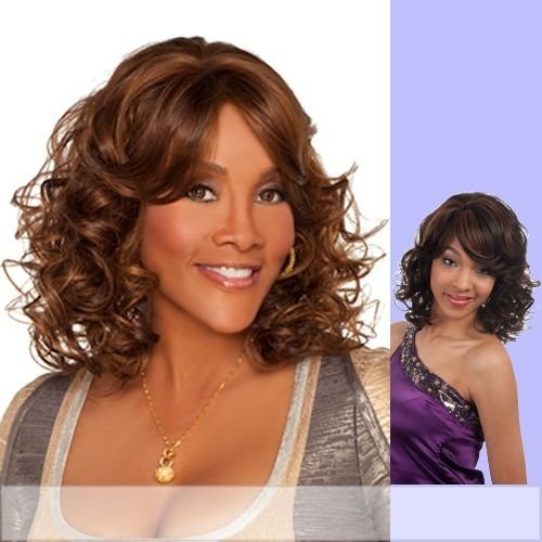 WP-DENVER-V (Vivica A. Fox) - Futura Fiber Half Wig in JET BLACK by Vivica A. - Stores In Denver Mall