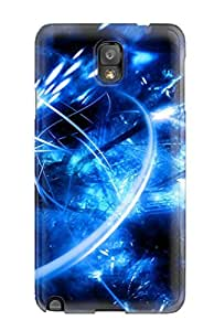 High Quality Audrill Abstract Blue Skin Case Cover Specially Designed For Galaxy - Note 3
