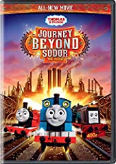 "Determined to prove his importance on Sodor, Thomas takes James' trucks and sets off on a big adventure to the Mainland. On the way he makes friends with the cheerful and helpful ""Experimental Engines"" but, after a wrong turn, finds himself l..."