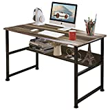 DL furniture-Computer Desk office table, stable Metal frame wood surface, Wood Work-Station Study Home Office Furniture …
