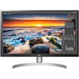 LG 27UK850 27 inch 4K UHD HDR 10 Height Adjustable IPS Monitor (3840 x 2160, 2x HDMI, DisplayPort, USB-C, 350 cd/m2, 5ms, AMD Freesync) White