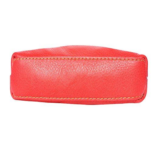 bag 8609 body unisex Red Mini brown leather soft cross ZW4q4C